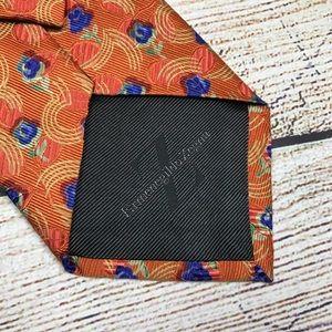 ERMENEGILDO ZEGNA heavyweight silk neck tie